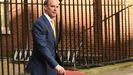 El ministro británico de Exteriores, Dominic Raab, que asume la gestión del Gobierno del Reino Unido ante la ausencia de Boris Johnson