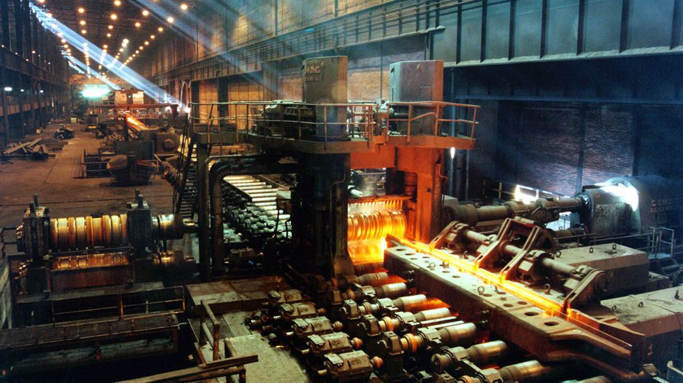 Plácido Arango.Factoría de ArcelorMittal en Gijón
