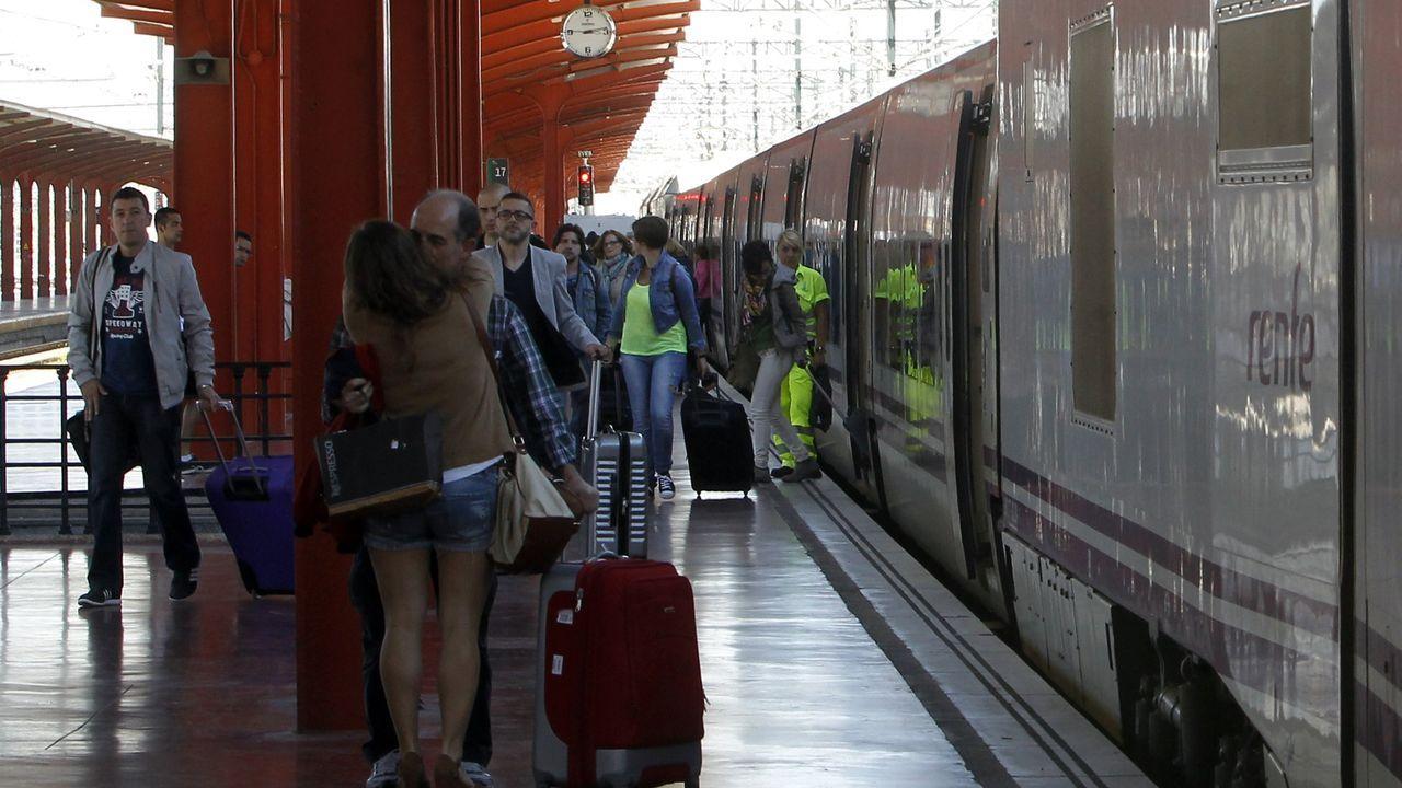 Obras en la variante de Pajares.El protocolo de Renfe está pensado para los trenes y las estaciones, pero también para las dependencias de la operadora