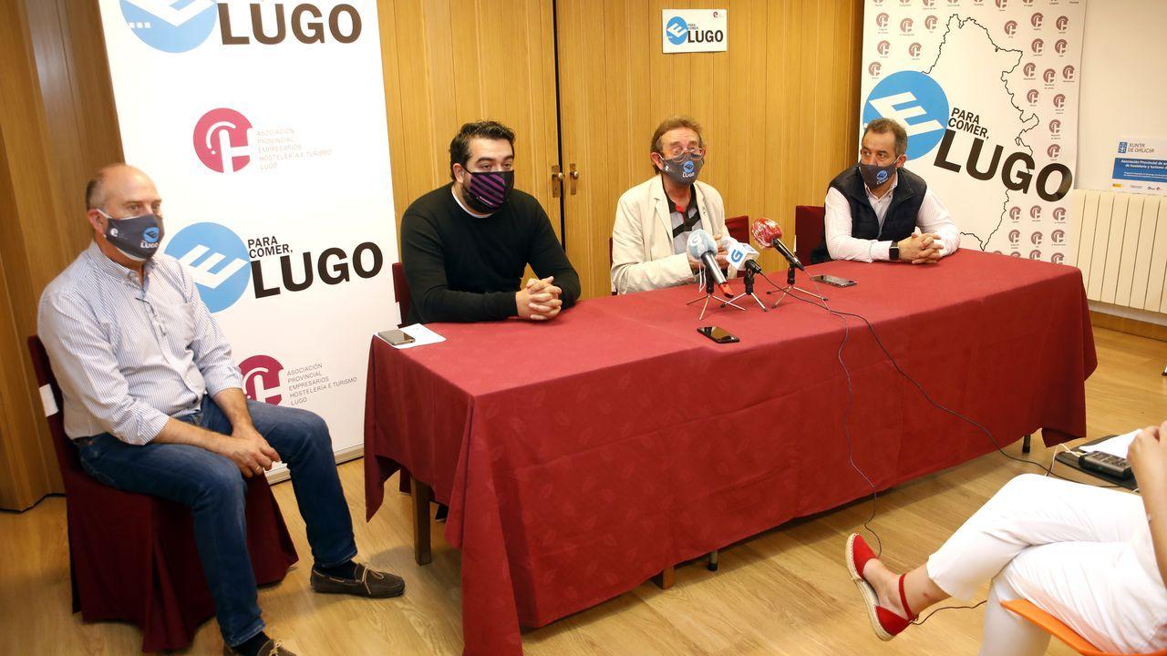Todos los Gobiernos de Feijoo.La asociación de hosteleros de Lugo pide medidas de apoyo al sector y que los hosteleros secunden la manifestación del miércoles con un cese de actividad de 10 minutos
