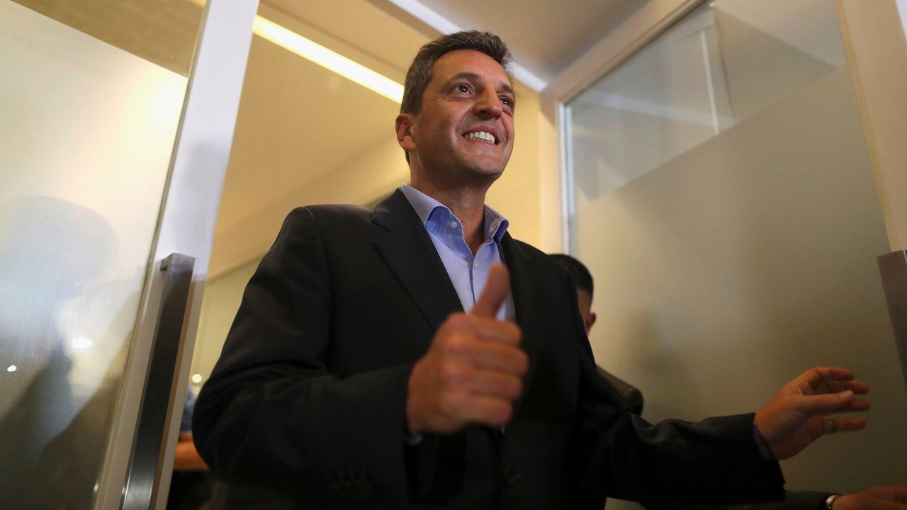 Sergio Massa renuncia a optar a la presidencia en las próximas elecciones