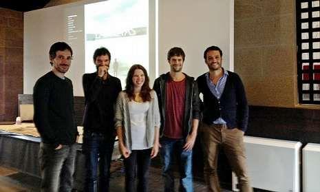Trailer oficial.Actores, productor y director presentaron el proyecto cinematográfico en la Casa das Campás.