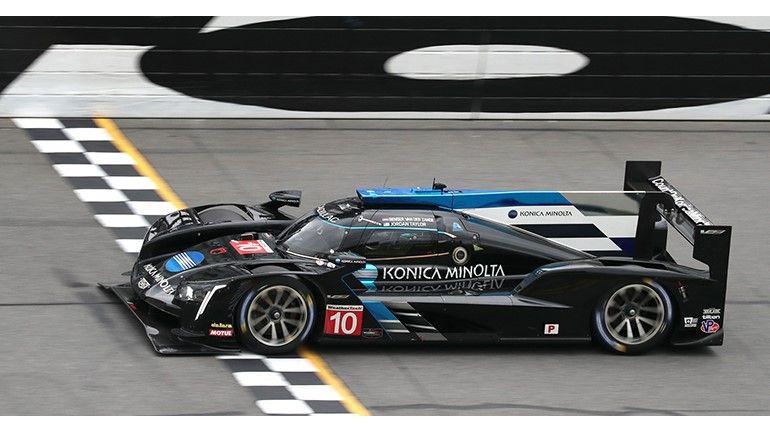 El Cadillac de Fernando Alonso, en Daytona