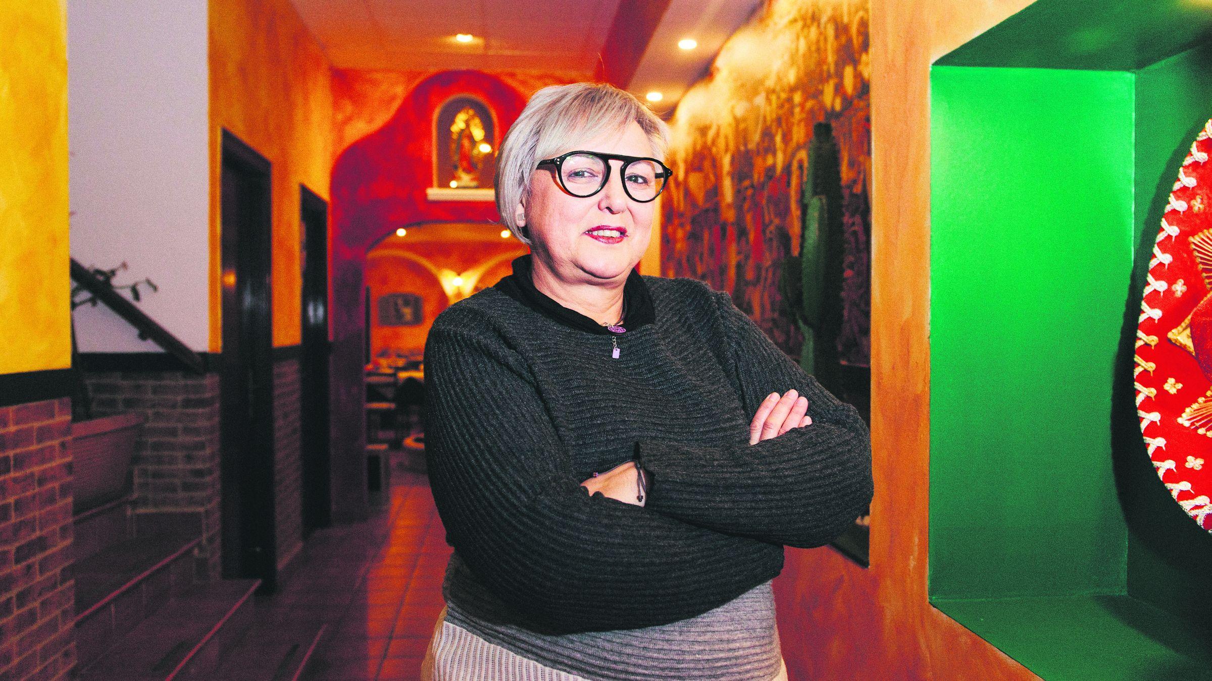 Yolanda Lobo, promotora cultural