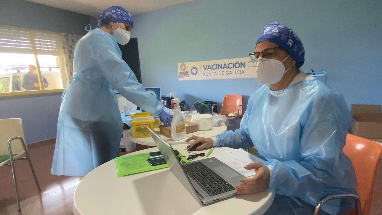 En Andalucía empezaron el jueves a vacunar a los mayores de 80 años