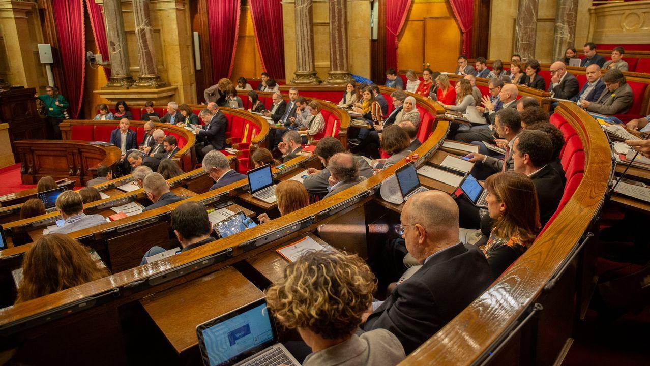 El Parlament, durante una sesión plenaria