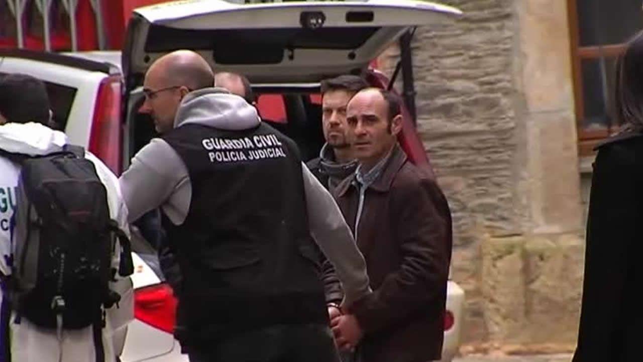 Javier Ledo, detenido como presunto autor de la muerte de Paz Fernández