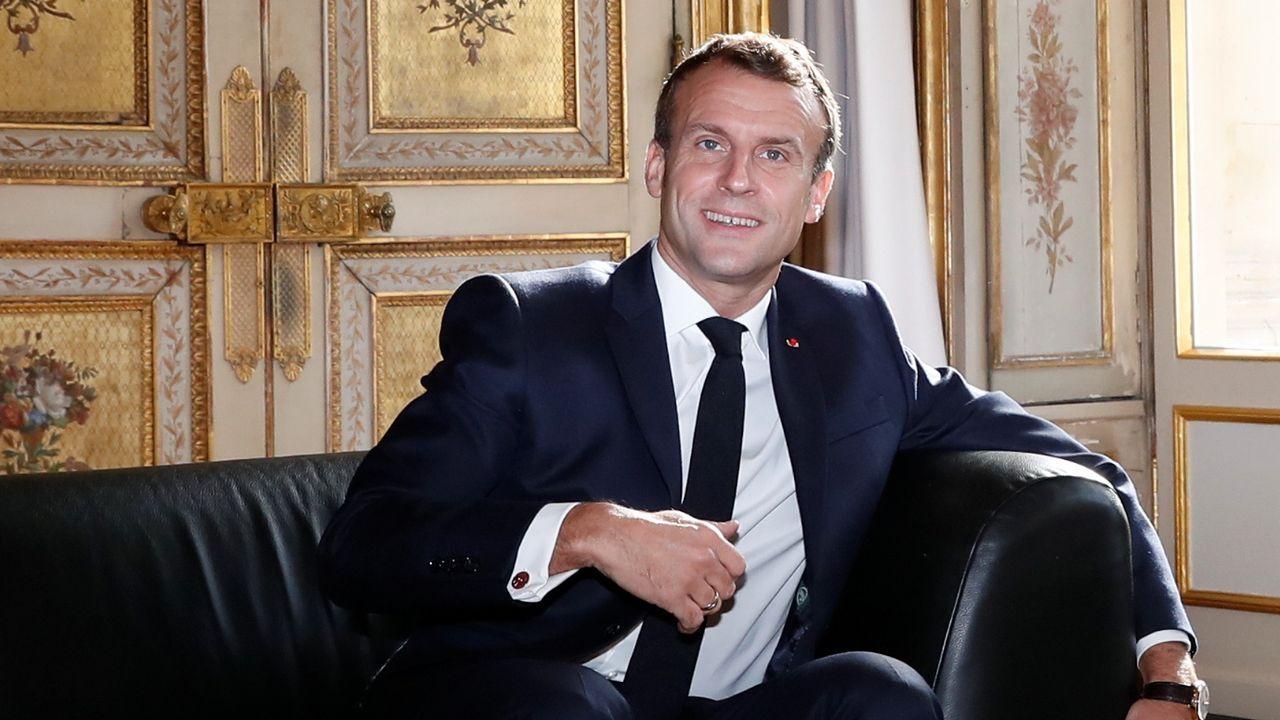 Macron lanza su idea de la OTAN a pocas semanas de la cumbre que marcará el 70 aniversario de la Alianza Atlántica