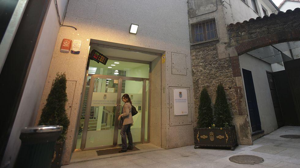 Gascona.Antigua oficina de recaudación del Ayuntamiento de Oviedo