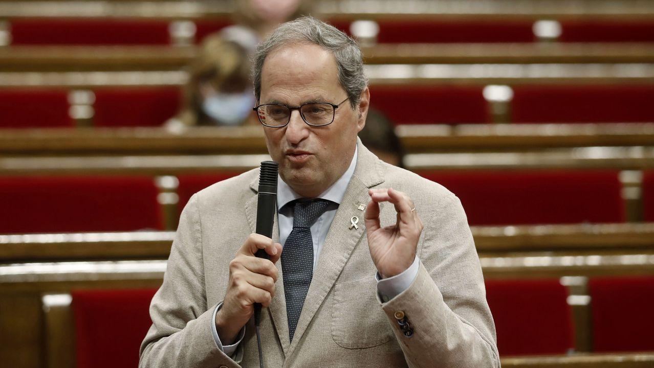 El presidente de la Generalitat catalana, Quim Torra