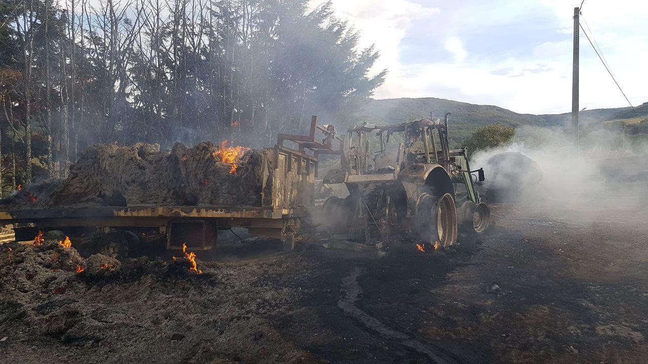 O Xurés, tras las llamas.Piso a la venta en la capital ourensana