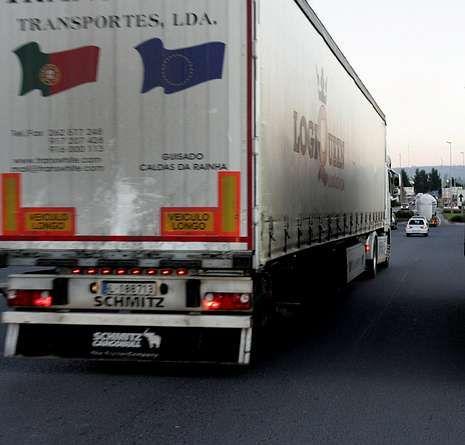 El tráfico pesado ha bajado con la crisis económica.