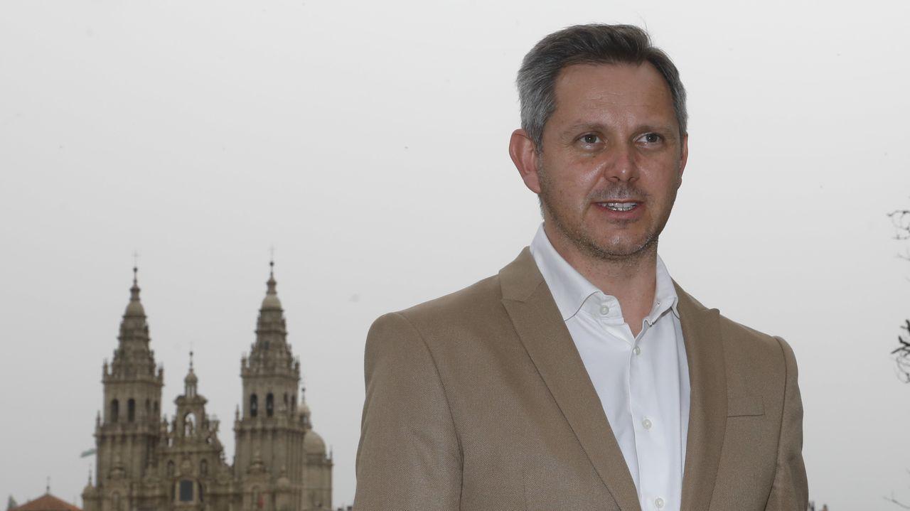 José Manuel Miñones, este martes en Santiago