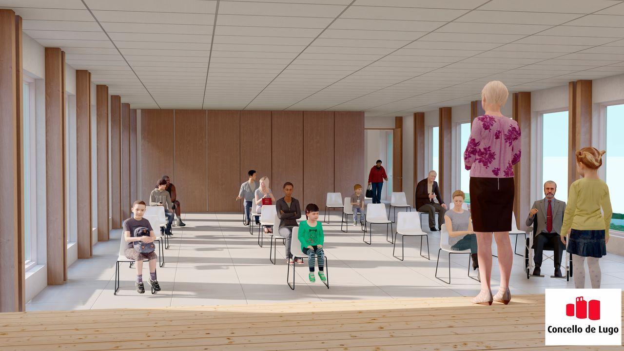Así será el nuevo centro social de Aquilino Iglesias, que se construirá sobre todo con madera