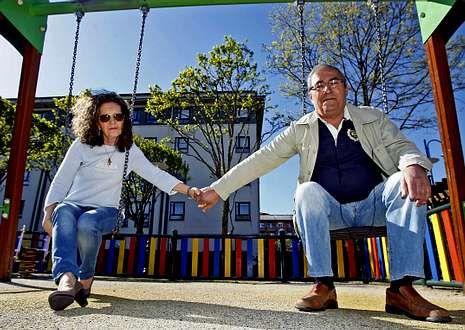 kiko_detalle.Vidueira y su marido, José Luis Argibay, ganaron en los tribunales el derecho a ver a su nieto.
