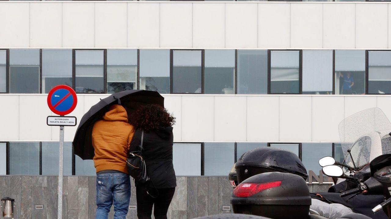 tempo.Lluvia en Oviedo