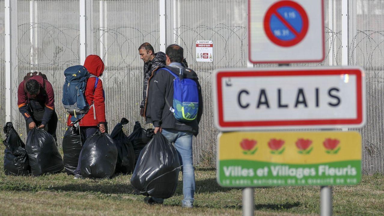 El tráiler de «The Cave».Calais