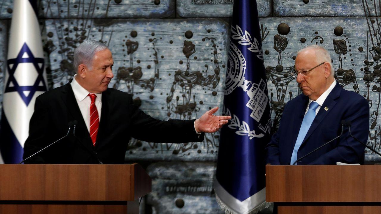 Netanyahu recibió el cometido de formar Gobierno del presidente Reuvén Rivlin