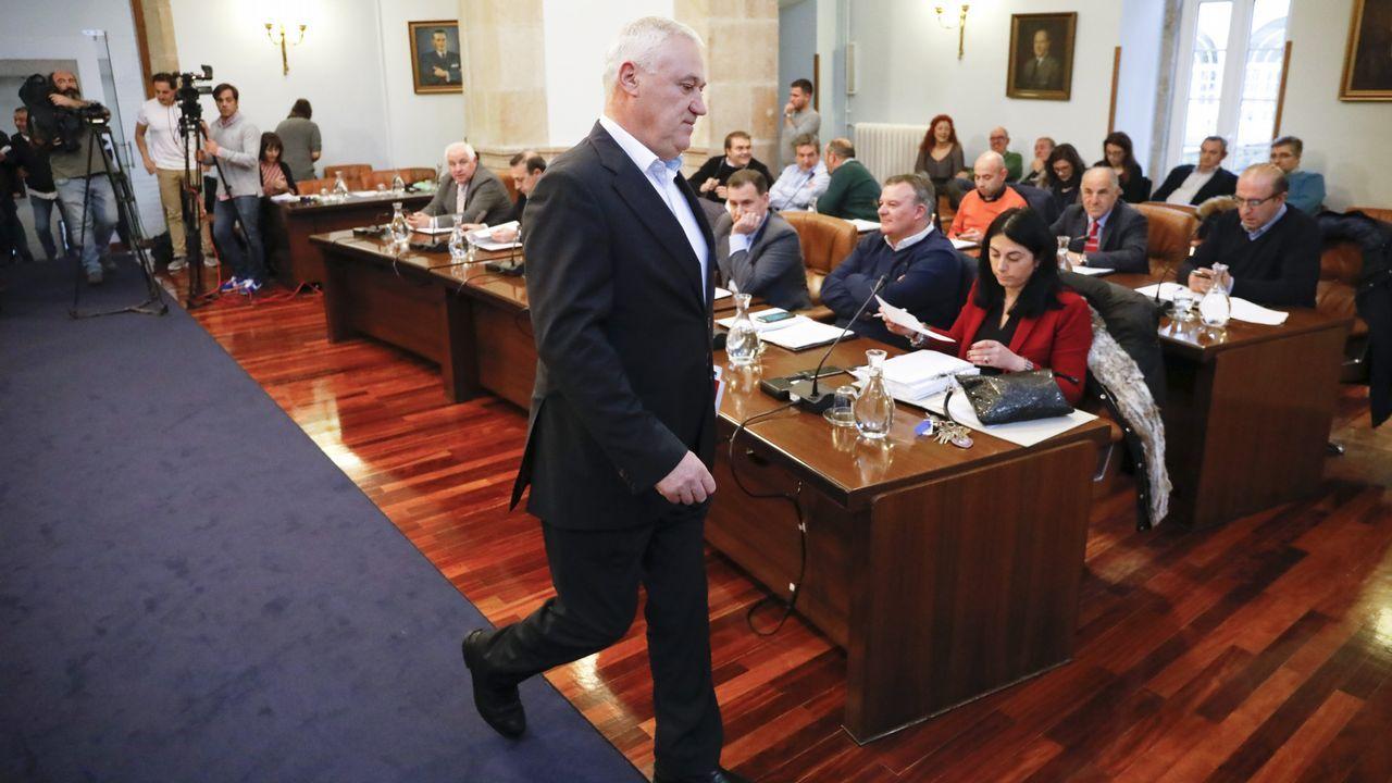 Nieve en la montaña de Lugo en abril.Manuel Martínez, alcalde de Becerreá y diputado discolo del PSOE en la diputación de Lugo