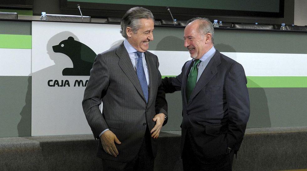 Fernández Toxo no optará a la reelección en CC. OO..Rodrigo Rato