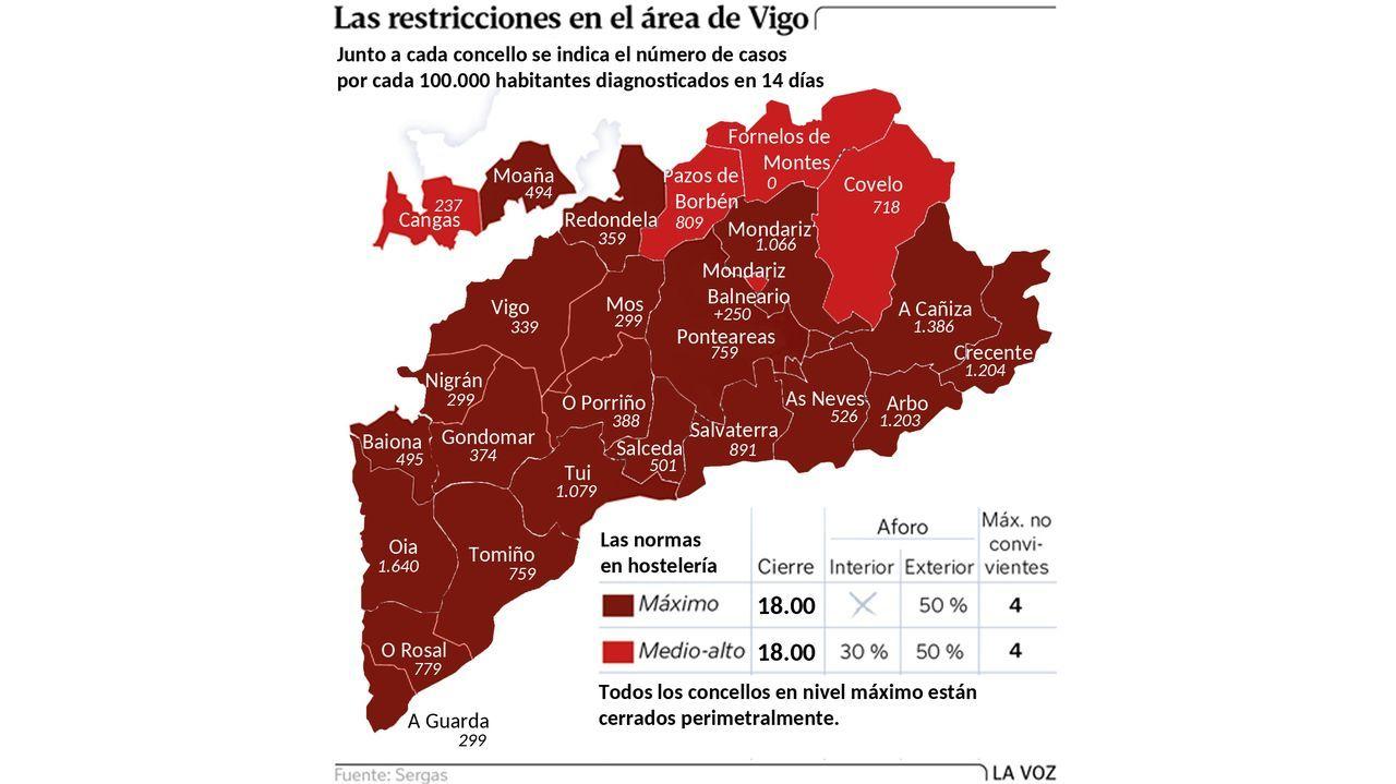 Comuneros denuncian estragos de motos, quads y todoterrenos en los montes.Un tren de mercancías procedente de Vigo atraviesa la estación de A Pobra do Brollón
