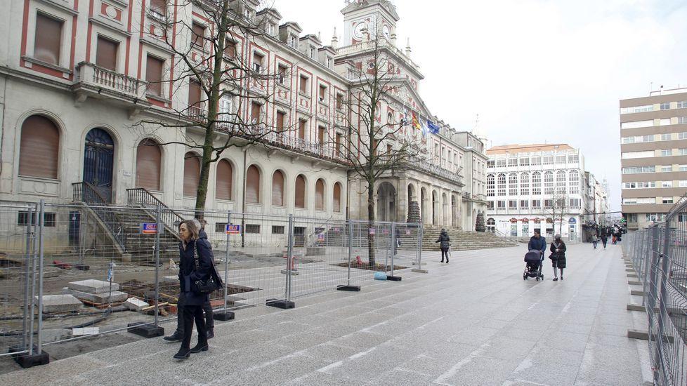 Tallas de marfil que se ha incautado la Guardia Civil