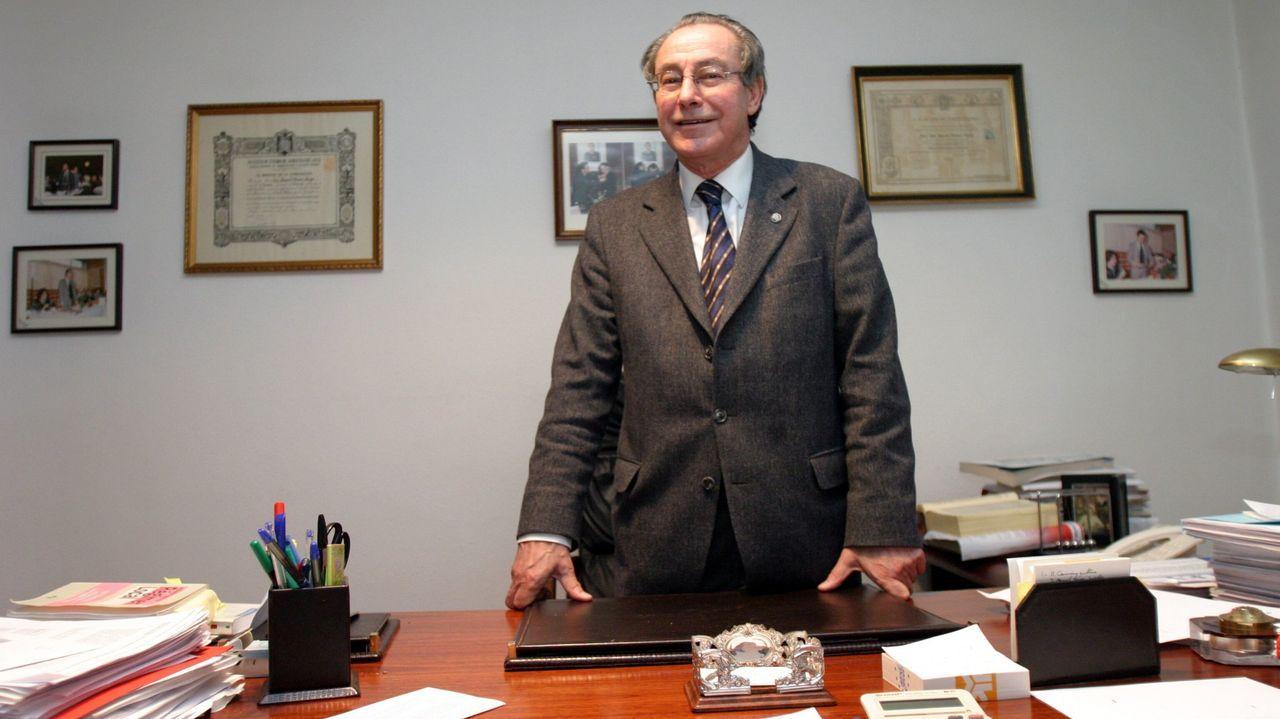 Adiós a la socialista Isaura Abelairas.El abogado José Manuel Piñeiro Amigo, en una imagen de archivo