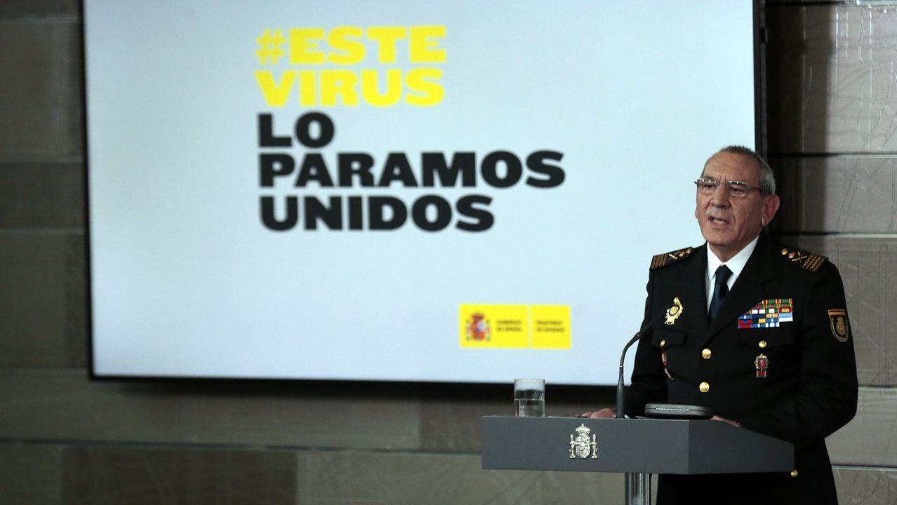 Los hermanos Enrique y Félix Osorio han decidido pasar el confinamiento rapados y cómodos.