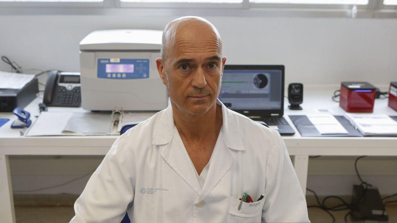 Andrés Agulla Budiño, jefe del laboratorio que analiza las pruebas de covid:  Ha sido como estar en una película de ciencia ficción