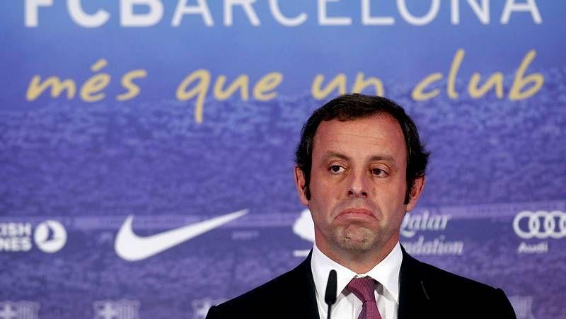 Rosell confía en la inocencia de Messi.Abidal, presentado junto a Toulalan