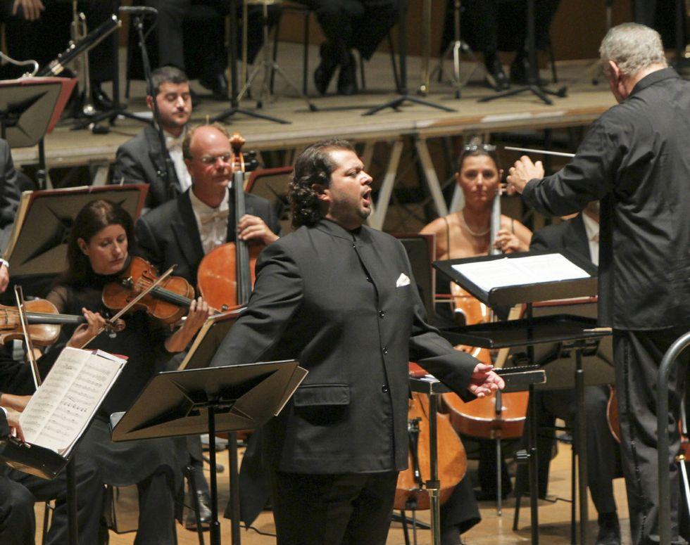 Albelo es, según Plácido Domingo, el mejor tenor español.