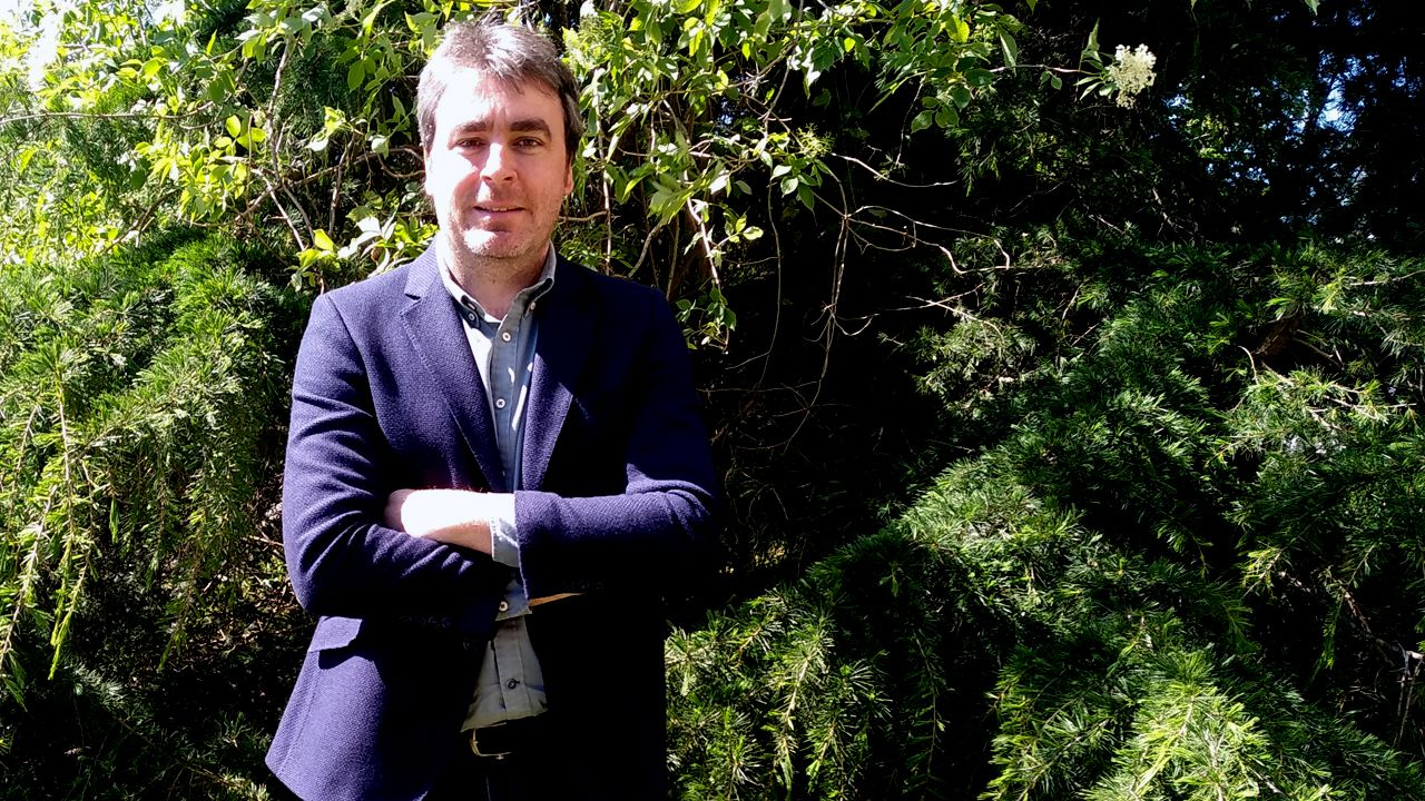 Hostelería cierra, pero augura una excelente recuperación.Ignacio Calviño, presidente de la Asociación de Jóvenes Empresarios (AJE)