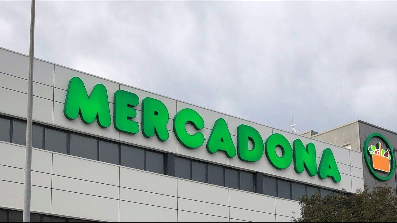 Leon.Nuevas aceras incluidas en el proyecto de ampliación del supermercado Mercadona