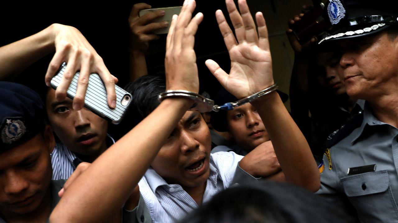 Kyaw Soe Oo, periodista de Reuters condenado en Birmania