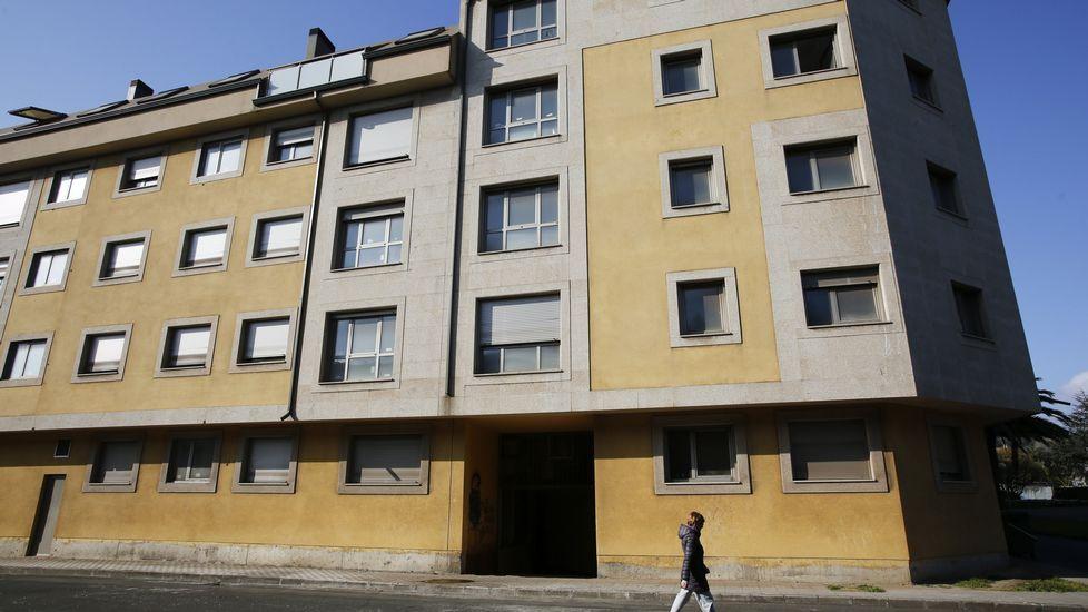 Edificio terminado por la Sareb en la provincia de A Coruña