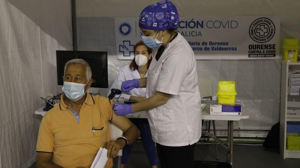 Entramos en el nuevo laboratorio del CHUO.Hoy y el lunes habrá vacunaciones masivas en el Paco Paz