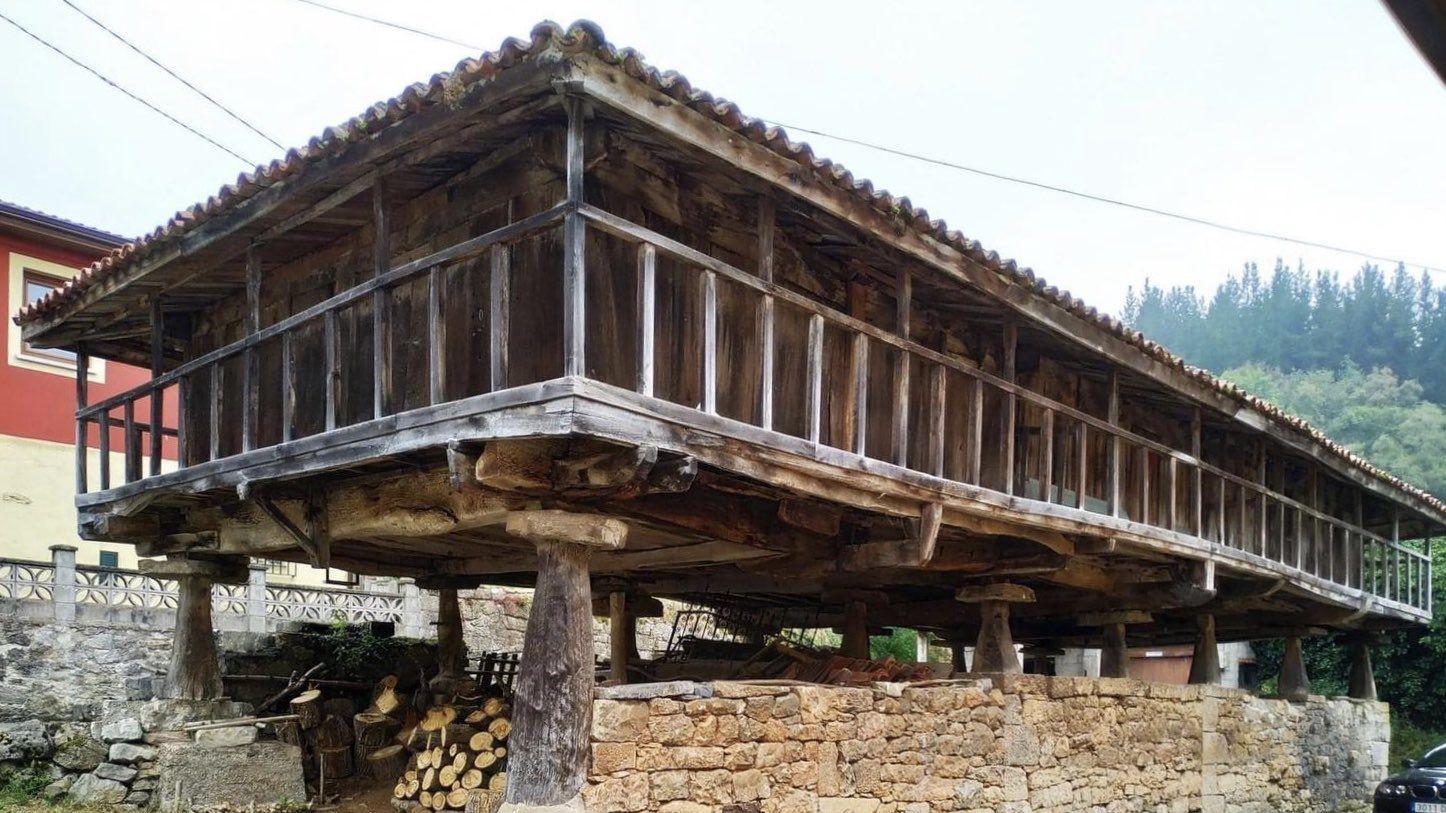 La panera de Santianes de Molones, en Grado