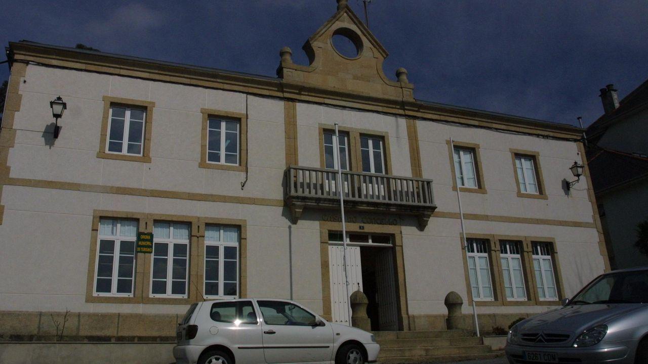 Fotografía de archivo de las oficinas municipales de Ferreira