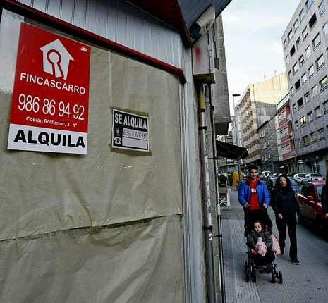 En Loureiro Crespo hay más de 30 locales cerrados.