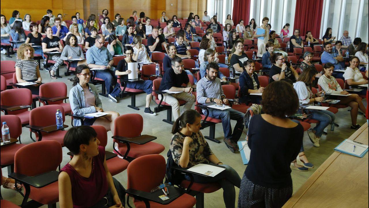 Foto de archivo del concurso para funcionarios del cuerpo de Educación de la Xunta