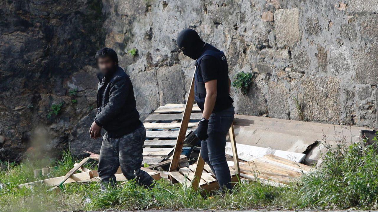 La operación antidroga de San José, en imágenes