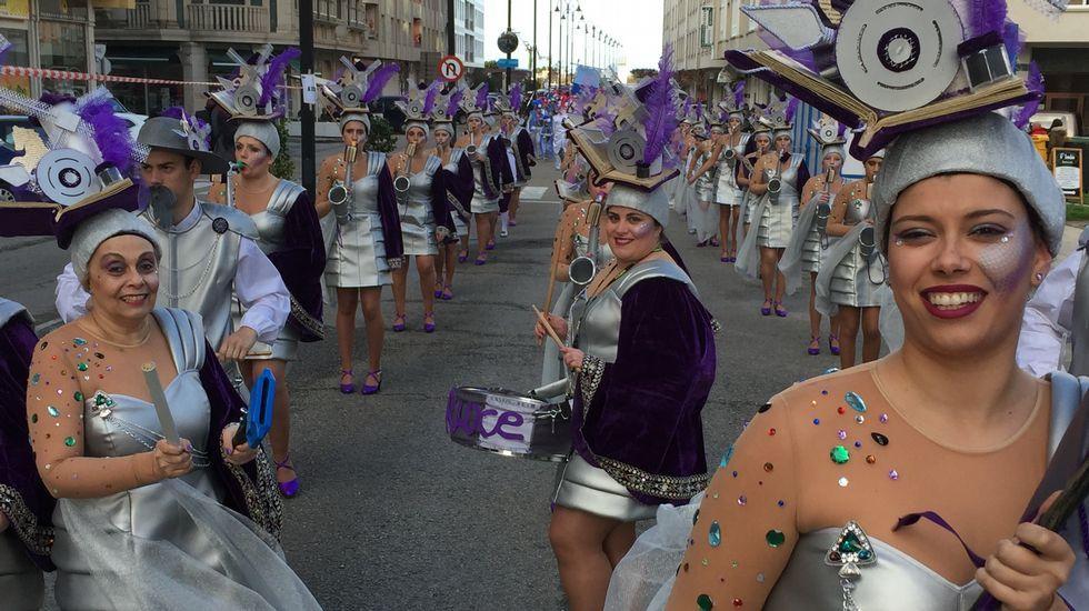 Desfile de Carnaval en Ribadeo.