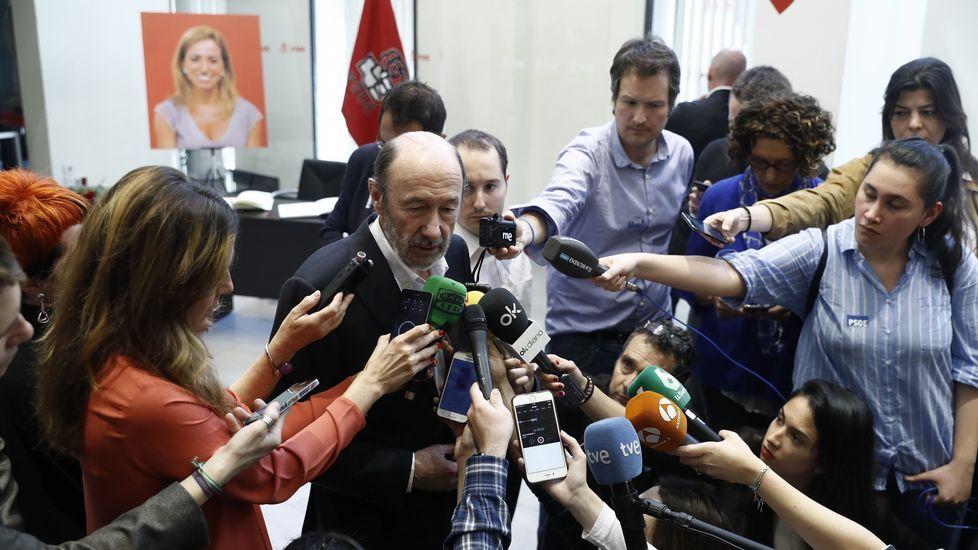 El exsecretario general del PSOE, Alfredo Pérez Rubalcaba.
