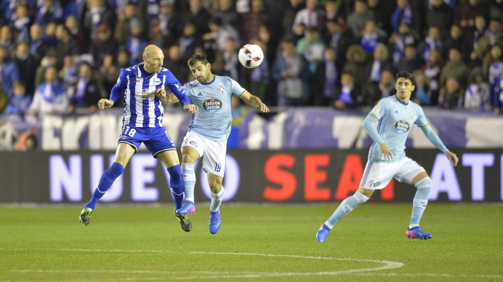 Alavés 1 - Celta 0 - Semifinal de Copa (8 de febrero del 2017)
