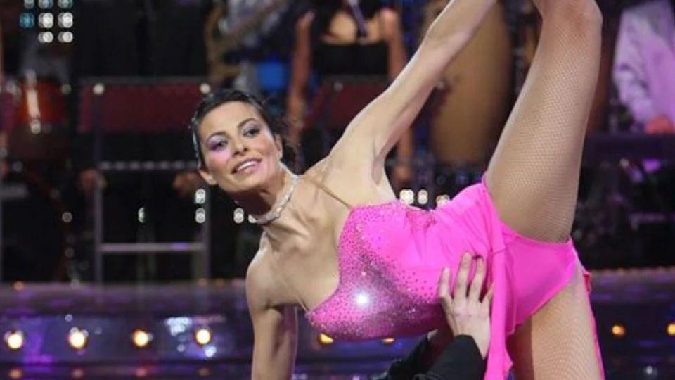 La gijonesa Natalia Estrada en su paso por el programa «¡Mira quién baila!» de Televisión Española