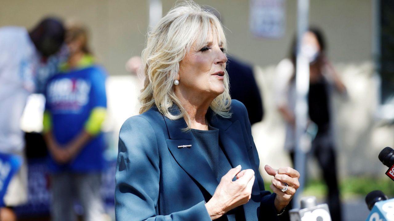 Jill Biden, esposa de Joe Biden