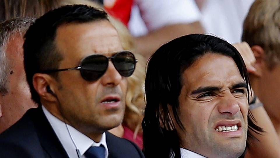 Jorge Mendes es el representante de Cristiano Ronaldo y Radomel Falcao