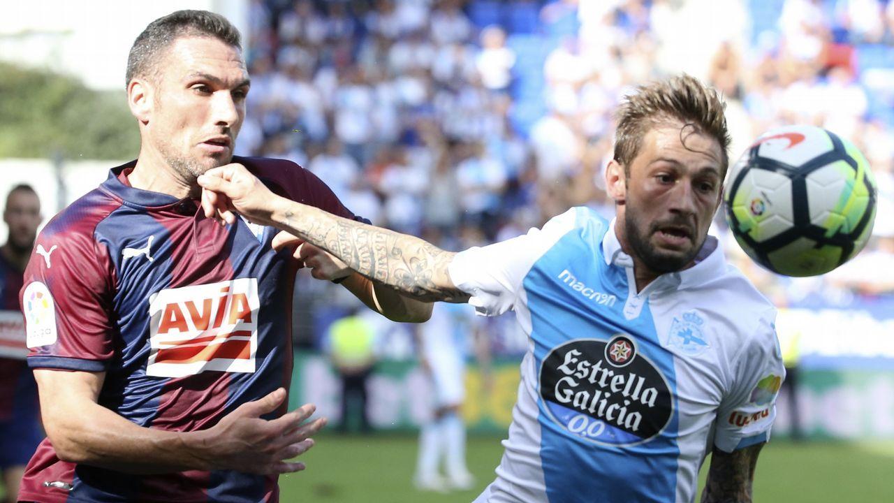 Las mejores imágenes del Eibar - Deportivo