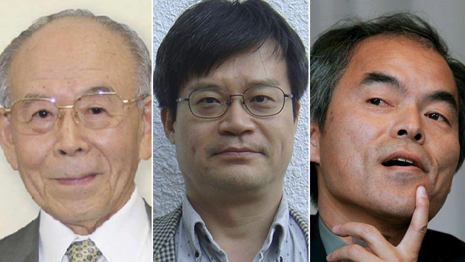 Isamu Akasaki, Hiroshi Amano y Shuji Nakamura