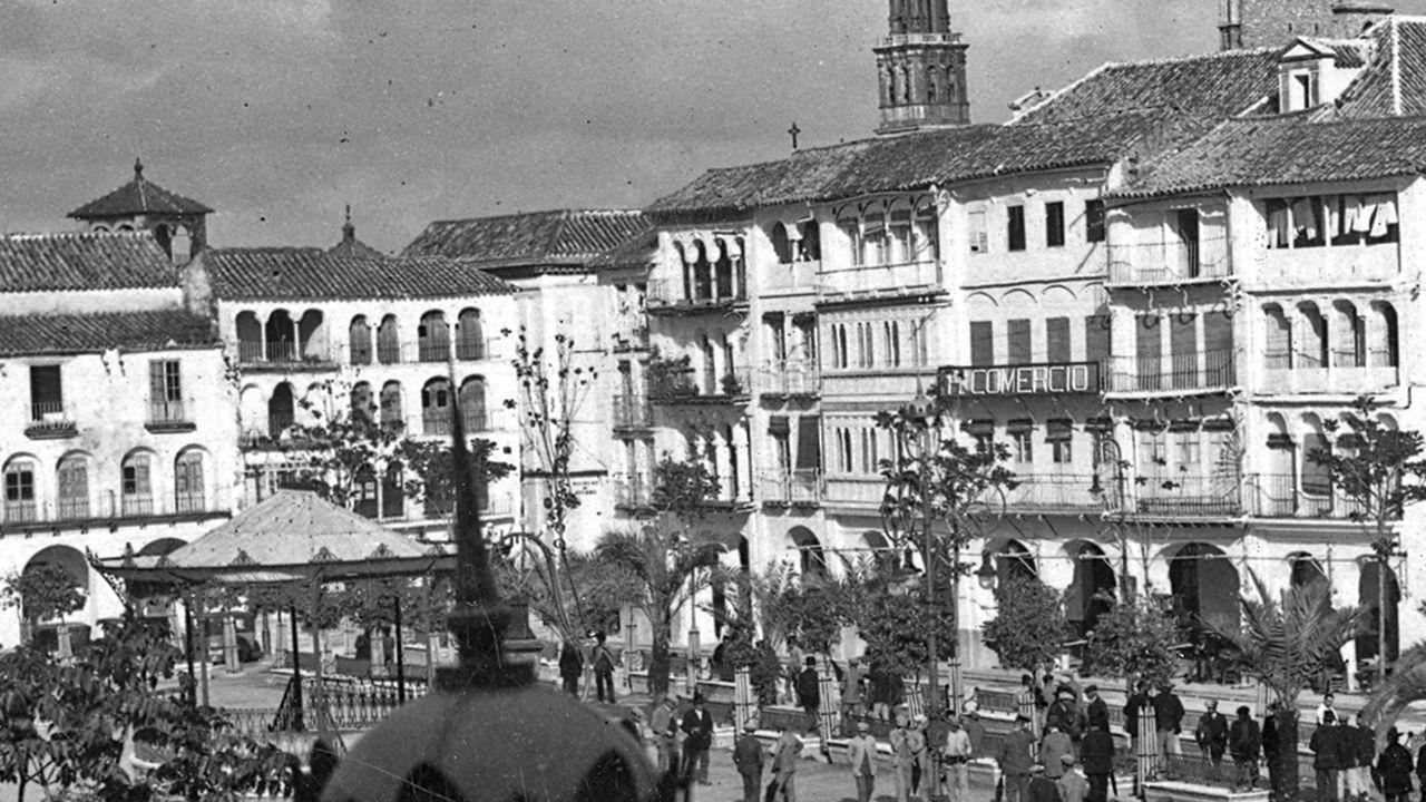 El Hoter Comercio estaba en Écija (Sevilla)